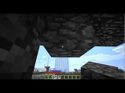 Minecraft 1.4.2 - Teleport through walls glitch [Single Player/Multiplayer]