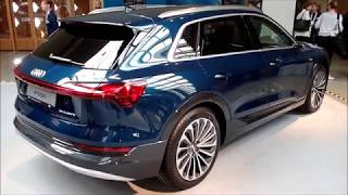 New Audi e-tron 55 quattro in detail |Interior| side wing camera lights|manouver elements etc...