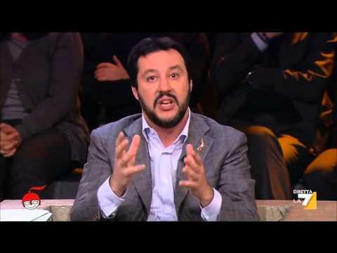 "SALVINI SMONTA LE ""RENZATE"" IN DIRETTA TV"
