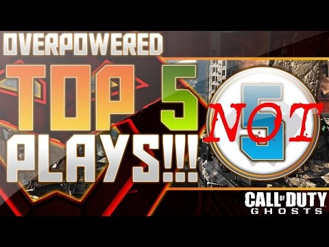 COD Ghosts - Overpowered NOT Top 5 Plays Week 41! (Call of Duty)