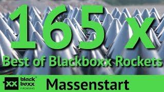 Massenstart: 165 Raketen in 3 Sekunden!!