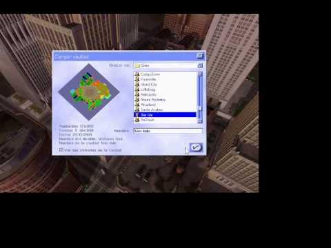 Descargar E instalar Simcity 3000 2015