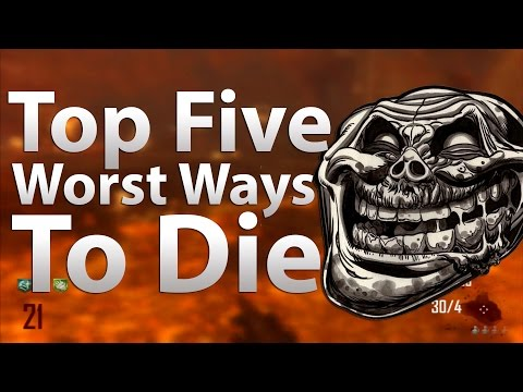 'TOP 5' Worst Ways To Die in 'Call of Duty Zombies' -