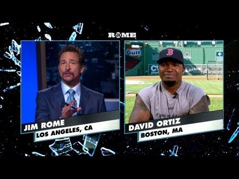 David Ortiz  11th Question  Jim Rome on SHOWTIME  Boston Red Sox