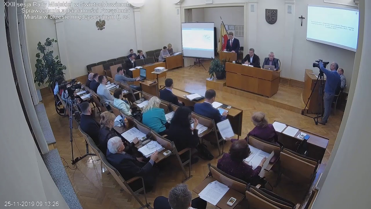 XXII sesja Rady Miejskiej 25.11.2019