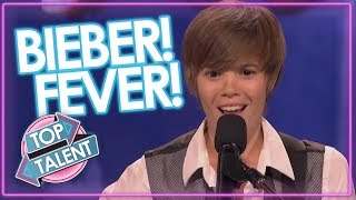 Justin Bieber Look A Likes Got Talent & X Factor | Top Talent