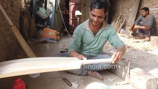 International level cricket bat making in Meerut - KL Rahul owns a bat made here