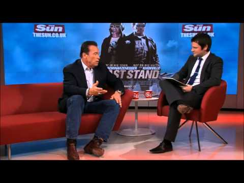 Arnold Schwarzenegger Interview / 22.01.13 / (San) Part 1