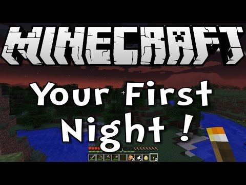 Minecraft 1.8 Tutorial - How to Survive your First Night - Survive & Thrive Season 8