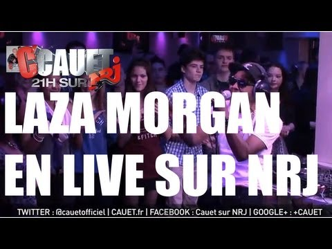 Laza Morgan Feat Nancy Logan - All She Wants - Live - C'Cauet sur NRJ