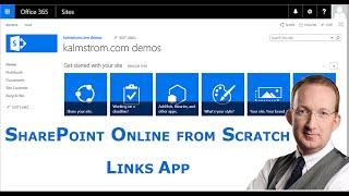 SharePoint Add a Links App
