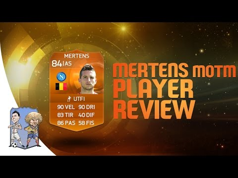 FIFA 15 | Dries Mertens MOTM 84 Player Review & Statistiche in Game