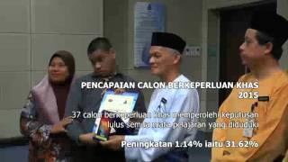 Sidang Media Keputusan SPM 2015 Negeri Johor