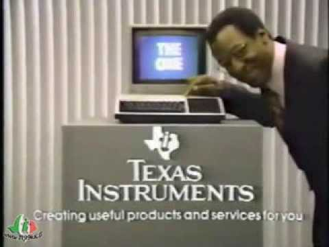 Pubblicità Commerciale del TI-99/4A - This is the One - con Bill Cosby