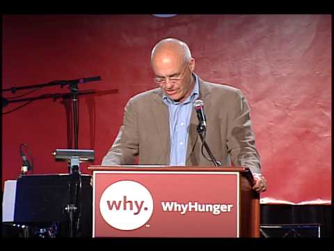 Mark Bittman speaks at the 2011 WhyHunger Chapin Awards Dinner