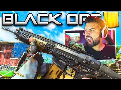 The New ASSAULT RIFLE Gameplay in Black Ops 4..