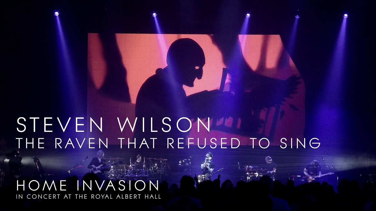 """Steven Wilson - """"The Raven That Refused To Sing""""のライブ映像を公開 新譜「Home Invasion: In Concert At The Royal Albert Hall」収録曲 thm Music info Clip"""