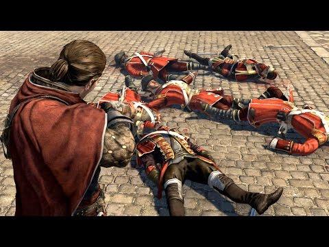 Assassin's Creed Rogue Sir James Gunn's Armor Free Roam & Combat