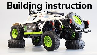 Инструкция / Building Instruction - Fastest LEGO Trophy Truck 2015