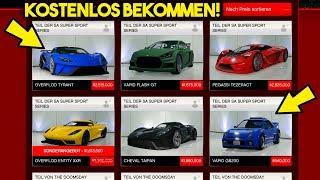 JEDES AUTO KOSTENLOS BEKOMMEN IN GTA 5 ONLINE! NEUER GC2F GLITCH! | [1.43] [GERMAN/Deutsch]