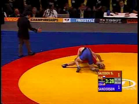 Cael Sanderson v. Sajid Sajidov