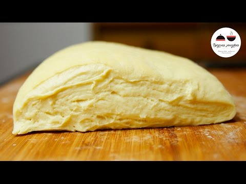 Универсальное ТЕСТО НА КЕФИРЕ Рецепт теста для пирожков Dough on kefir