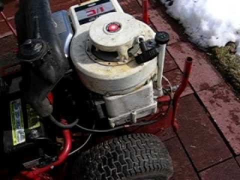 1987 Snapper Hi-Vac Ride-On Mower