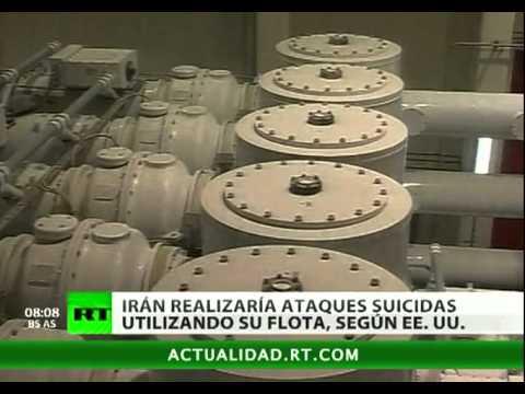 EE. UU.: Irán alista 'buques suicidas' para un posible conflicto militar