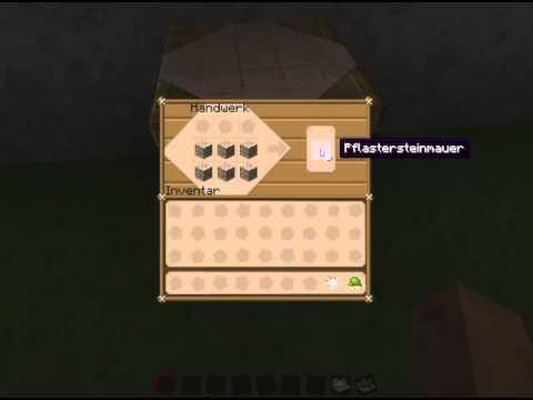 minecraft basic s 019 steinmauer youtube. Black Bedroom Furniture Sets. Home Design Ideas