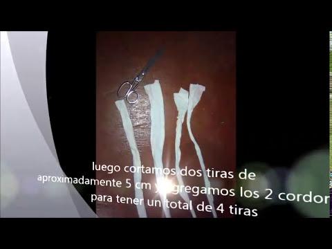 Tutorial:Como hacer cinturones y llaveros con material reciclable?