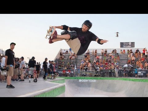 Chris Miller Winning Run - Dew Tour Ocean City Legends Skate Bowl