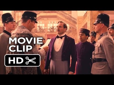 The Grand Budapest Hotel Movie CLIP - The Police Are Here (2014) - Wes Anderson Comedy HD