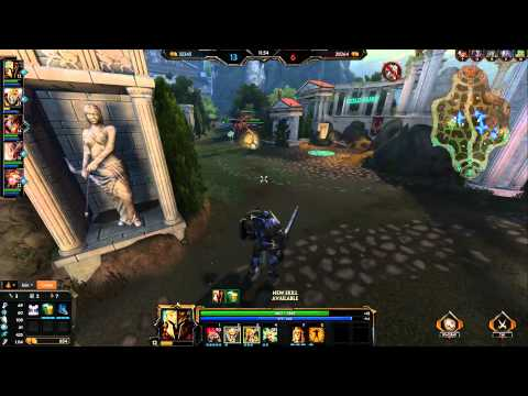 Smite Ares Gameplay: The art of the bait.