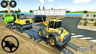 Drive Simulator 2 - Construction Vehicles Excavator, Crane Delivery Truck - Android Gameplay HD