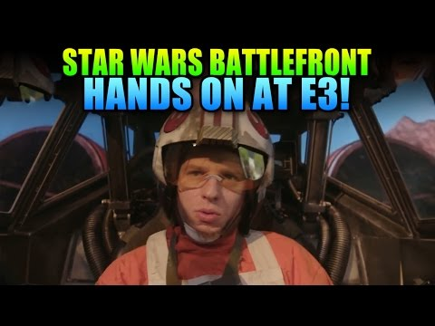 Star Wars Battlefront Hands On At E3 - First Impressions!