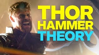 Infinity War Trailer?s Big Hint About Thor's Hammer