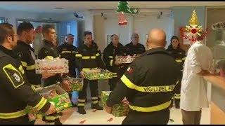Vigili del Fuoco - Mestre (VE), I Pompieri in Pediatria dell'Ospedale dell'Angelo - www.HTO.tv