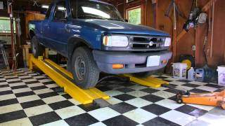Using the Kwik-Lift Car Ramp