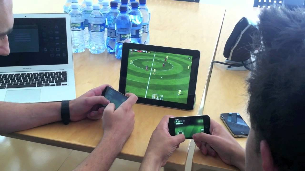 Fifa 12 Ipad Iphone Controller Fifa 12 Iphone Come