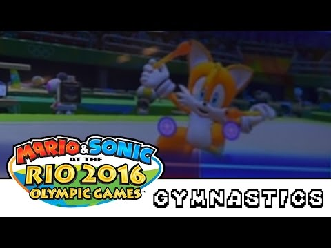 Mario & Sonic at the Rio 2016 Olympic Games Wii U Gymnastics Event