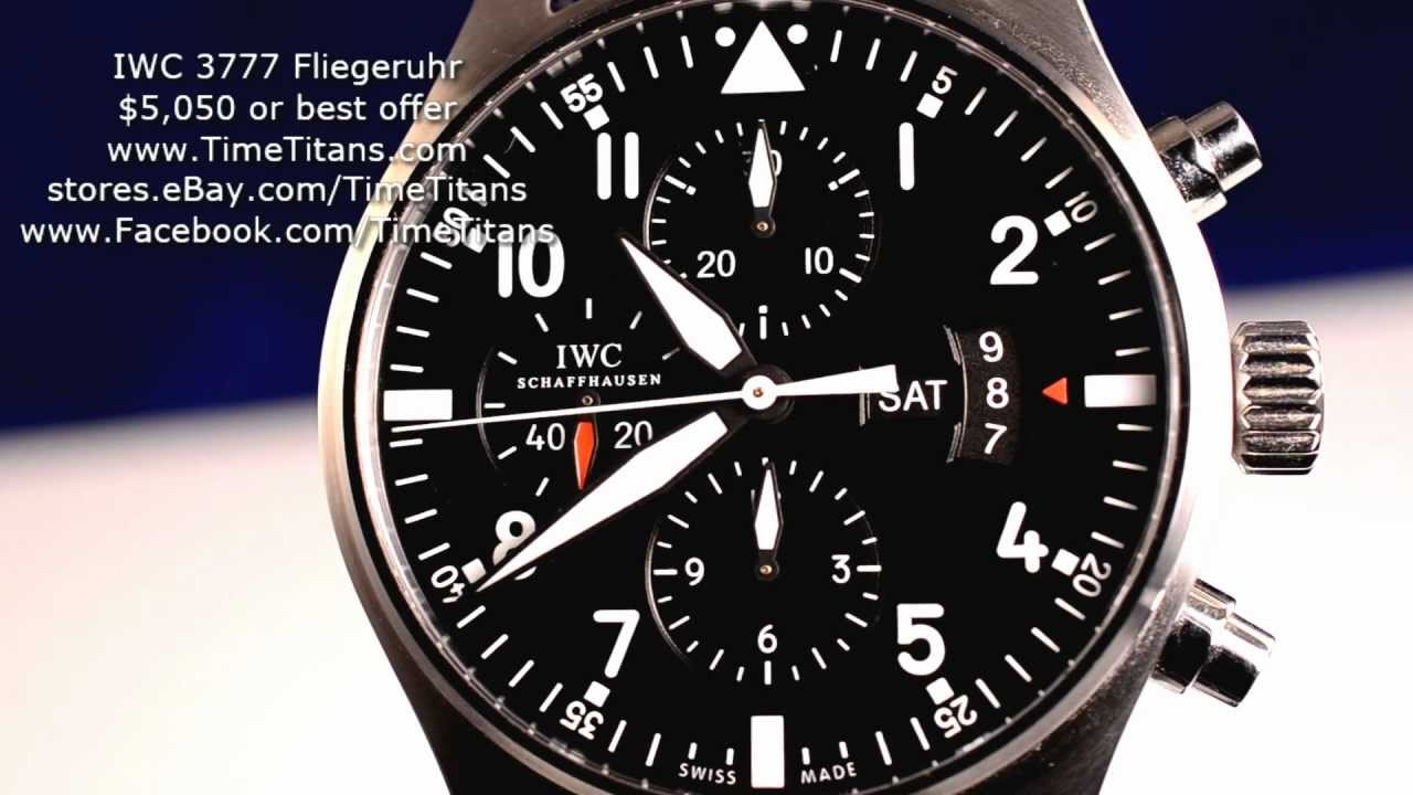 Iwc Day Date Chronograph Chronograph Day Date