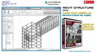 Revit Structure 2016 | Tutorial en Español | Leccion 22 | Curso Completo