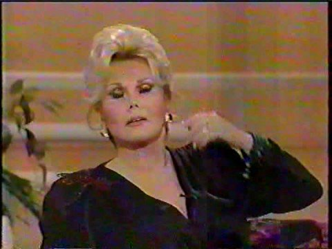 Lady gets Pwned by Zsa Zsa on The Phil Donahue Show (1989) Part 1 of 2