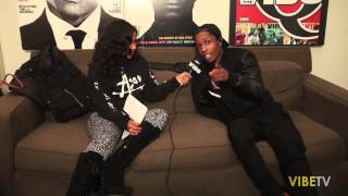 A$AP Rocky On The Single Life: Lip Service With Angela Yee
