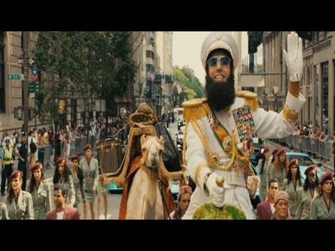 The Dictator Trailer (2012)