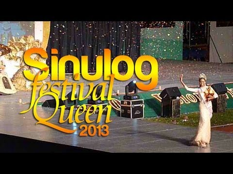 Sinulog Festival Queen 2013 Showdown and April Smith's Final Walk