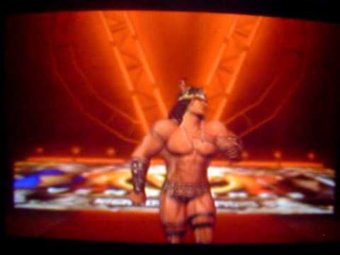 Conan Entrance - Smackdown vs Raw 2009 Video