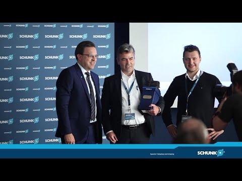 SCHUNK Kompetenz Award Preisträger Krause & Mauser Präzoplan GmbH. Oberndorf