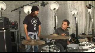 Le Donk & Scor-Zay-Zee - Deleted Scene - Drumming lesson with Matt Helders