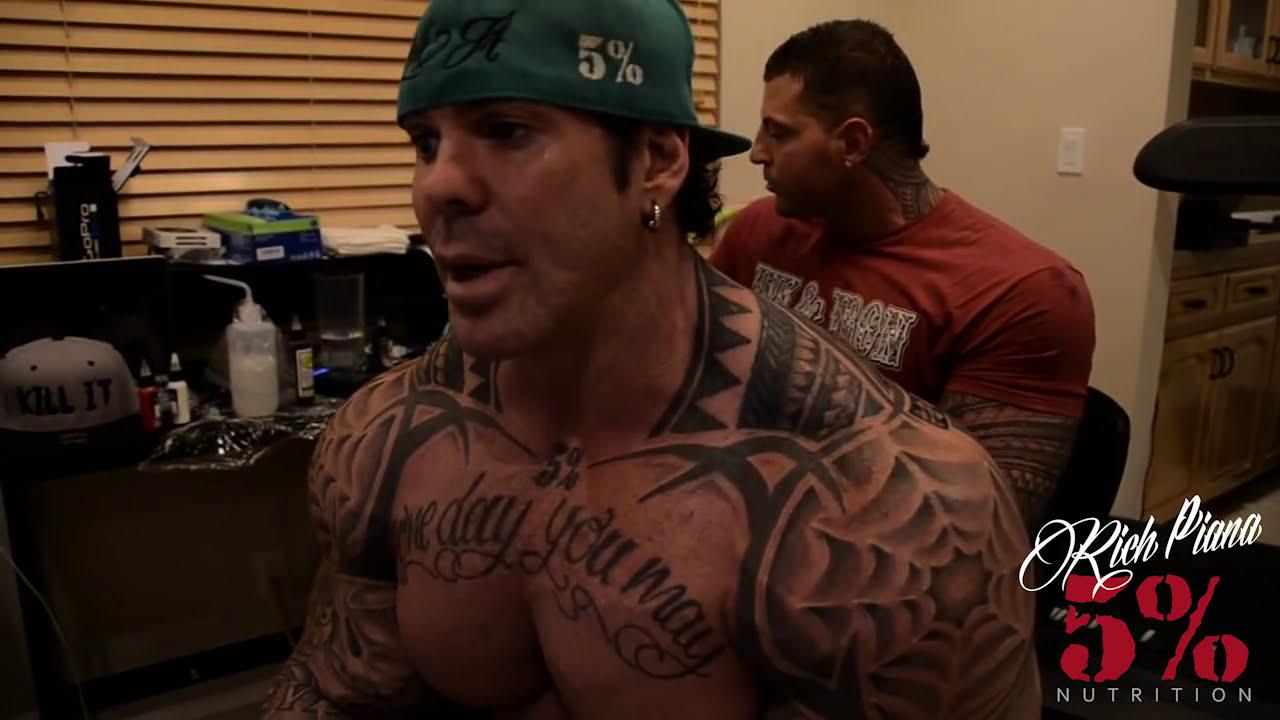 Rich Piana Tattoos 5 Rich Piana's New Back